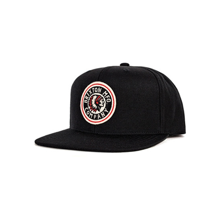 Rival Medium Profile Snap Back BLACK